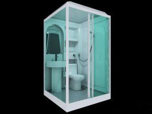 Handicap Friendly Bathroom, Needs Proper Door.