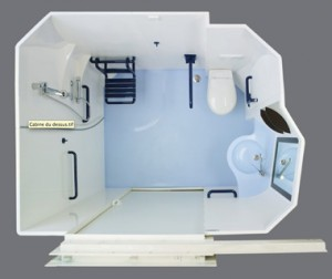Altor Prefabricated Handicap Bath