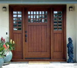 Custom Designed Wooden Door