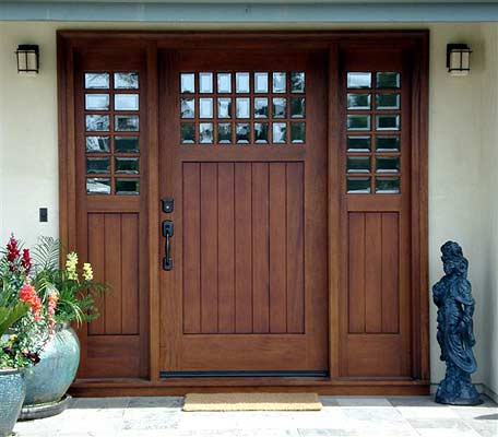 Front door styles craftsmanship penciljazz for Residential front doors