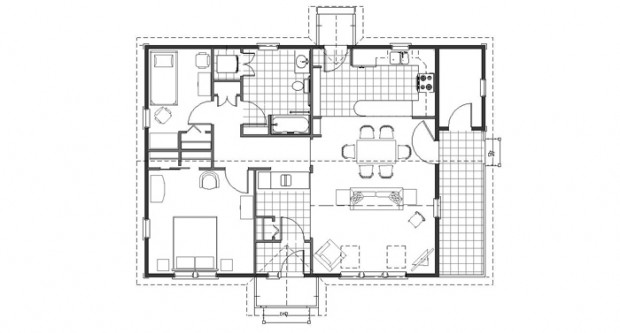 SunJazz-1320-2B-Floor Plan