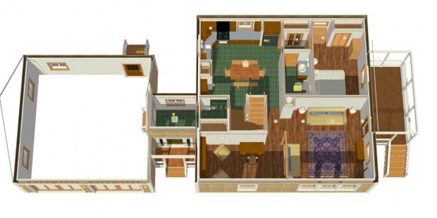 SunJazz-1600-4B-Cutaway 1st Floor
