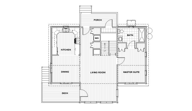SunJazz 1504 First Floor Plan